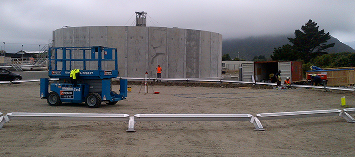 Aluminum Dove Covers Greymouth Dome
